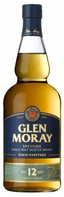 GLEN MORAY Heritage 12 YO Scotch Whisky 40% 0,7l