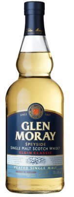 GLEN MORAY Classic Peated Whisky 40% 0,7l