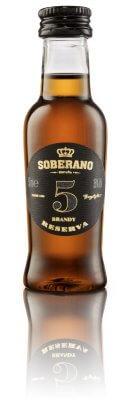 Soberano 5 Solera Brandy 36% 0,05l