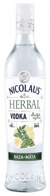 Nicolaus Herbal Vodka Baza & Mäta 38% 0,7l