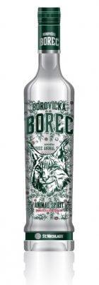 Borovička BOREC Animal Spirit 40% 0,7 l