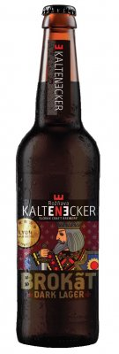 Kaltenecker pivo 13° Brokát Dark 0,33l