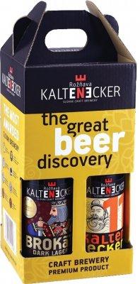 Kaltenecker pivo 4pack mix 4x0,33l