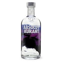 ABSOLUT vodka kurant 40% 0,7L