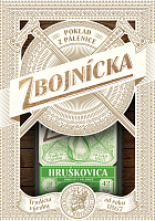 Zbojnícka Hruškovica 42% 0,7 l darčekové balenie